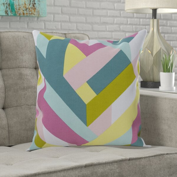 Justus 100% Cotton Throw Pillow by Langley Street